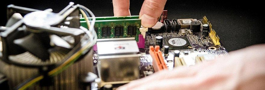 La réparation d'ordinateurs